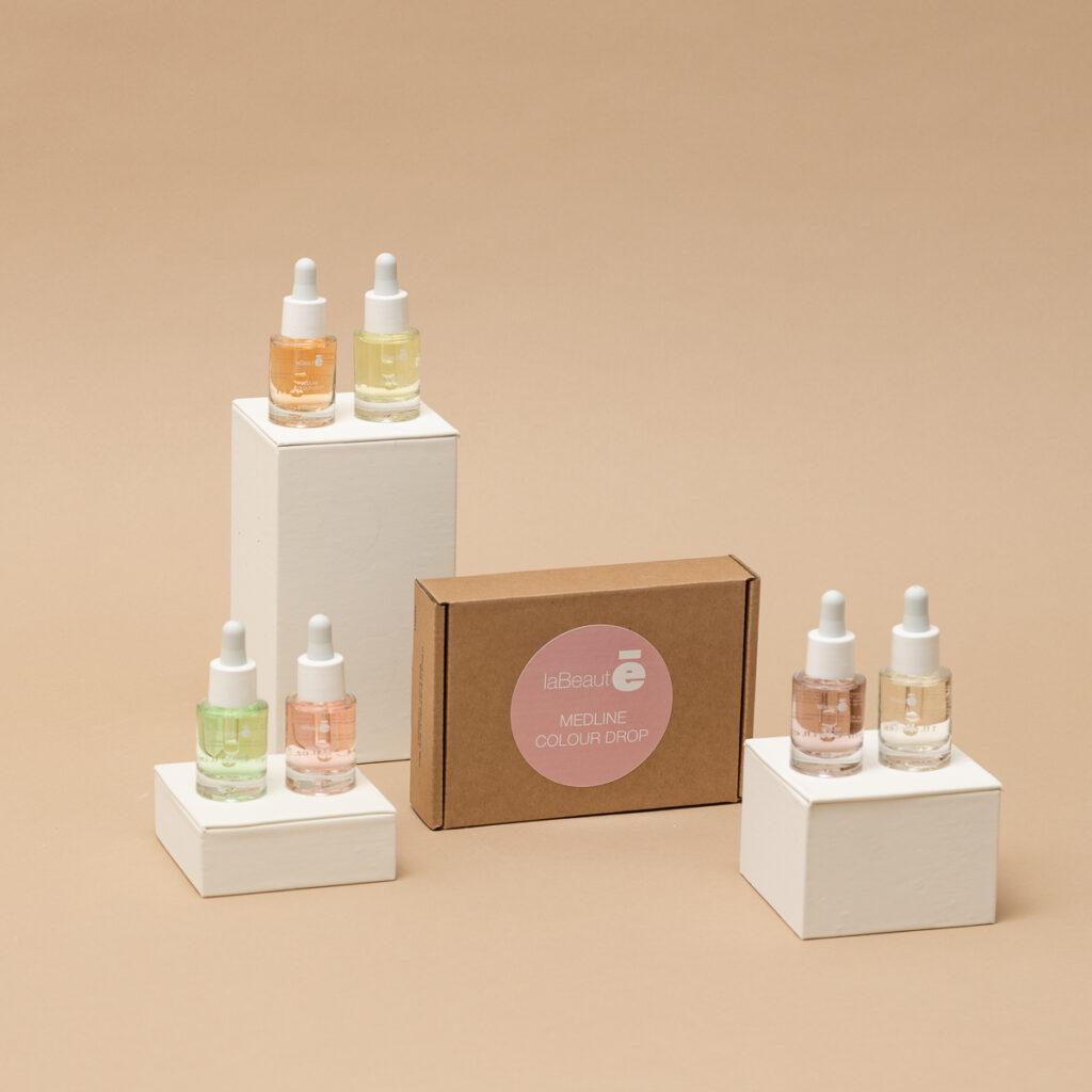Confezione ed esposizione di Medline Colour Drop - La Beautè