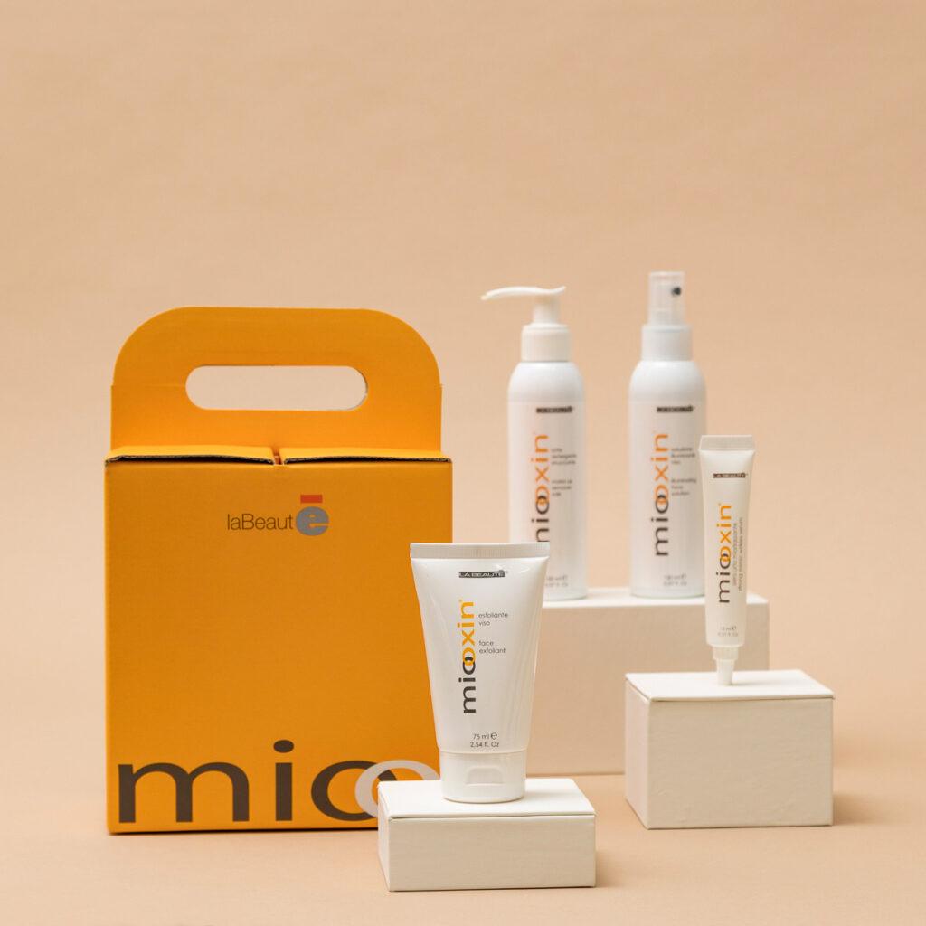 Gamma completa dei prodotti Medline Miooxin- La Beautè